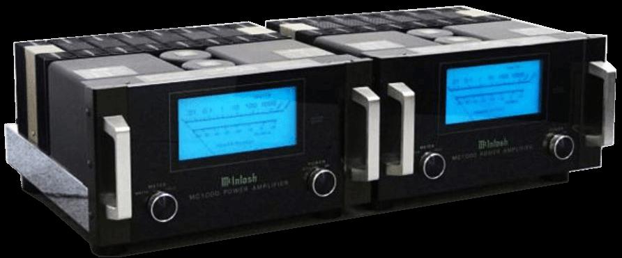 McIntosh モノラルパワーアンプ MC1000(ペア)の買取