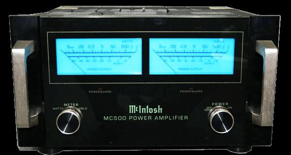 McIntosh パワーアンプ MC500の買取