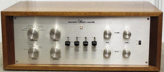 marantz 管球式コントロールアンプ Model 7 レプリカ(ウッドケース付)