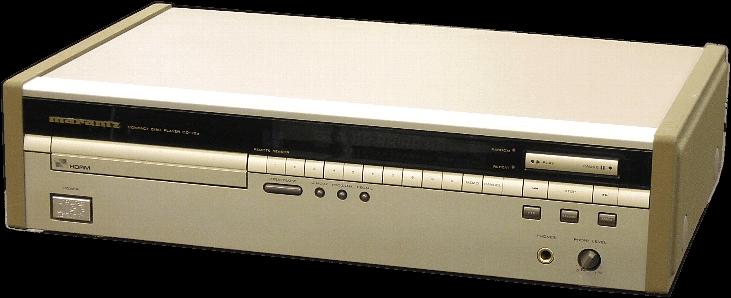 marantz CDプレーヤー CD-72a