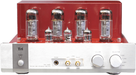 Triode 管球式プリメインアンプ TRV-34SE