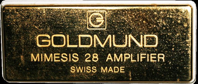 GOLDMUND パワーアンプ Mimesis 28