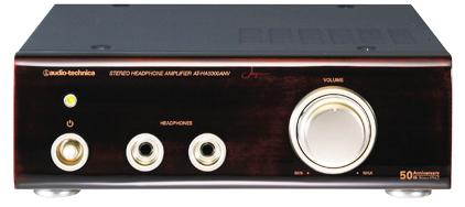 audio-technica ヘッドフォンアンプ AT-HA5000ANV