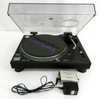 Technics レコードプレイヤー SL-1200MK3 Phono Equalizer フォノイコライザー AT-PEQ3 中古品