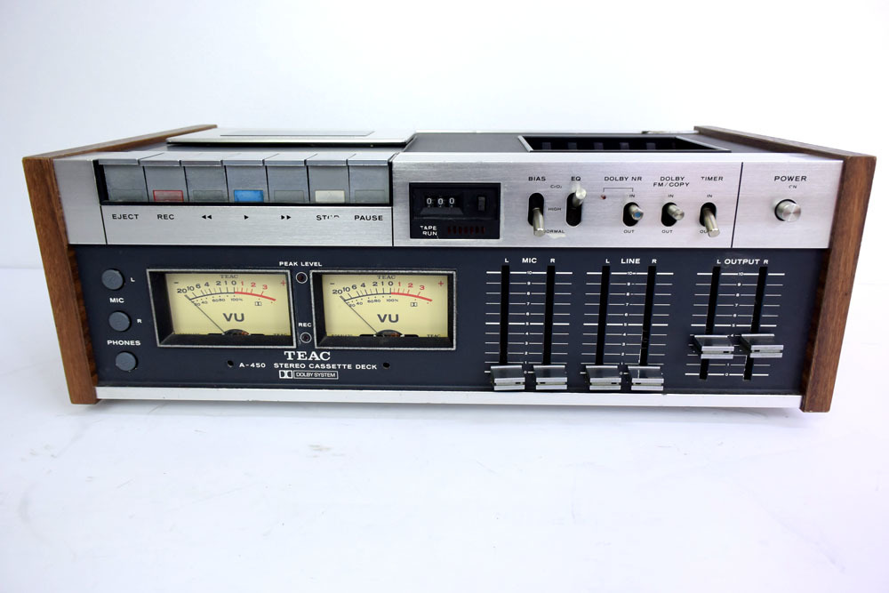 TEAC A-450 ステレオカセットデッキ