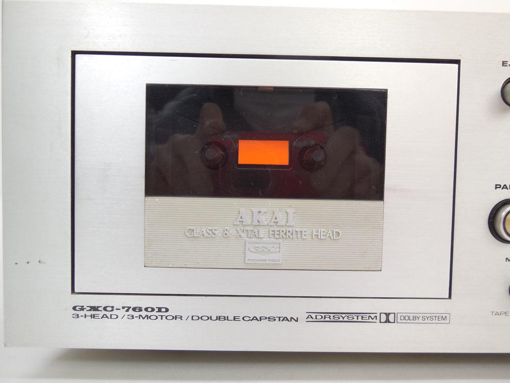 アカイ GXC-760D カセットデッキ