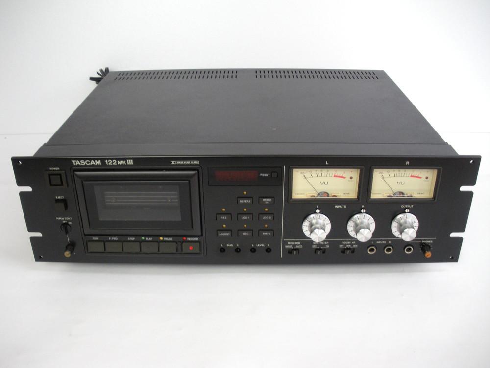 TASCAM 122MKIII カセットデッキ