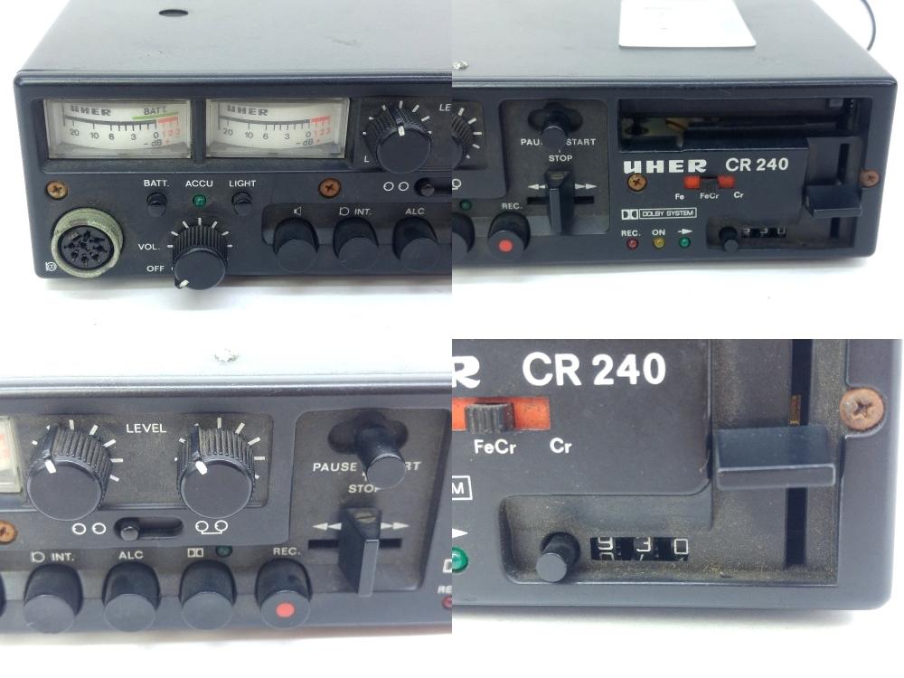 UHER ウーヘル CR240 カセットデッキの買取