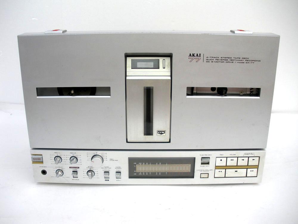 AKAI オープンリールデッキ GX-77の買取