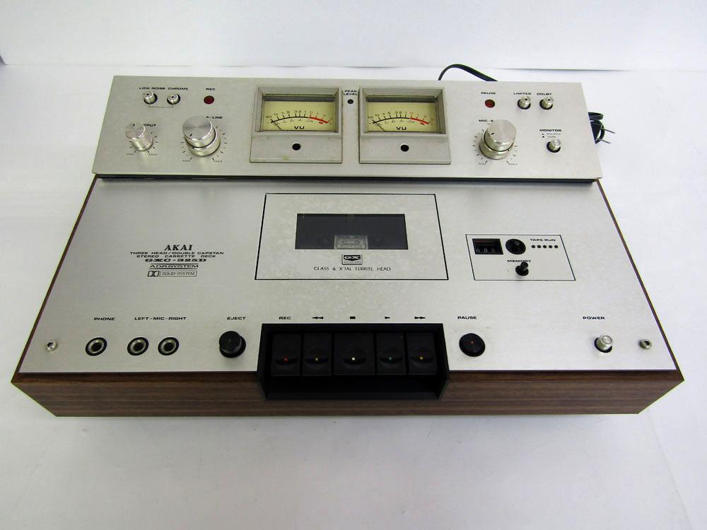 アカイ GXC-325D ステレオカセットデッキ