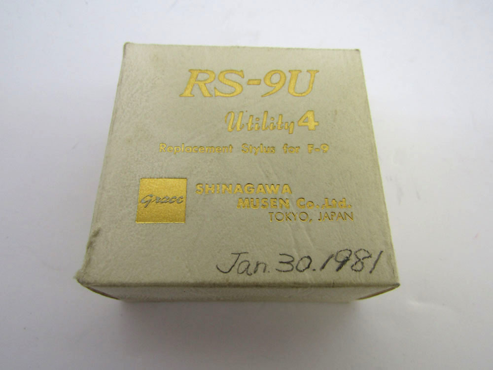 グレース RS-9U F-9 カートリッジ